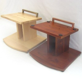 teak and maple